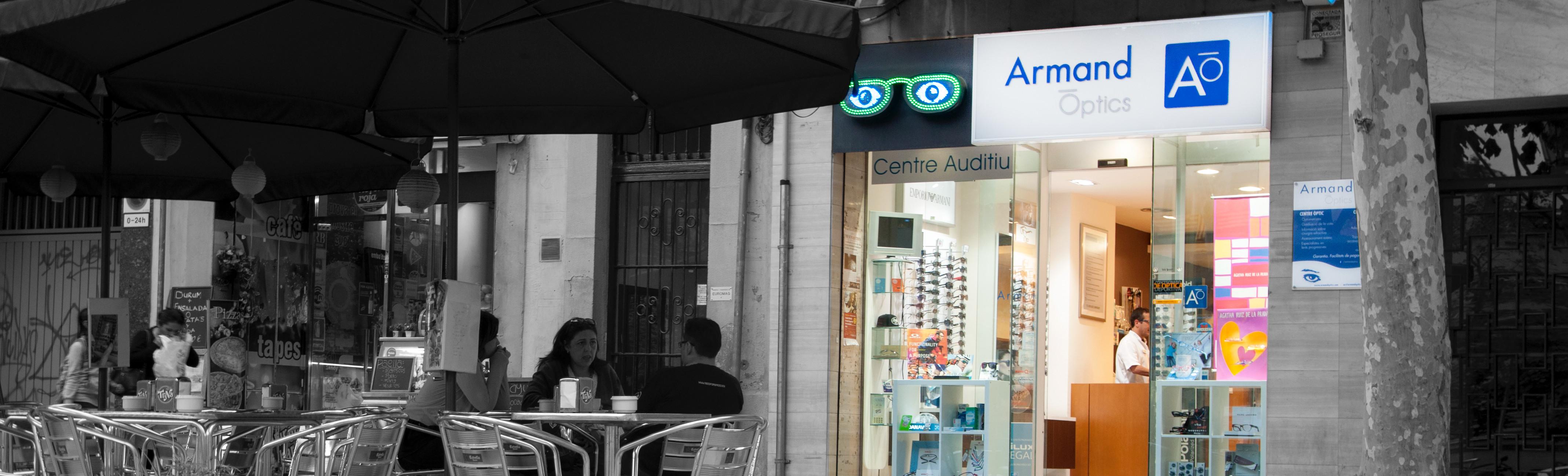 Armand Òptics Plaça del Centre, 13