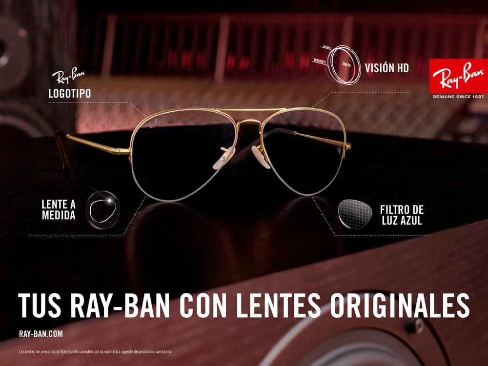 d211b69f3e Sea cual sea su necesidad en la corrección de la visión o su estilo en las  monturas, Armand Òptics tiene las gafas de vista Ray-Ban® que buscas.